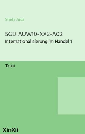 SGD AUW10-XX2-A02