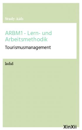 ARBM1 - Lern- und Arbeitsmethodik