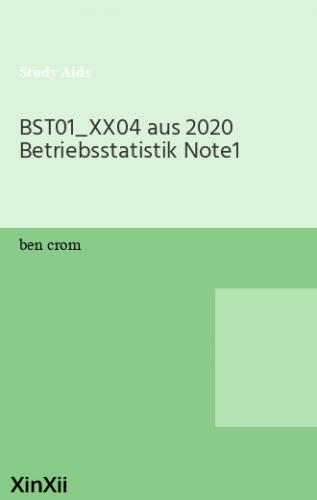 BST01_XX04 aus 2020 Betriebsstatistik Note1