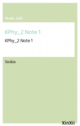 KPhy_2 Note 1