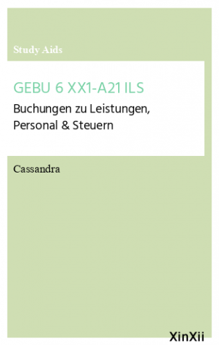 GEBU 6 XX1-A21 ILS