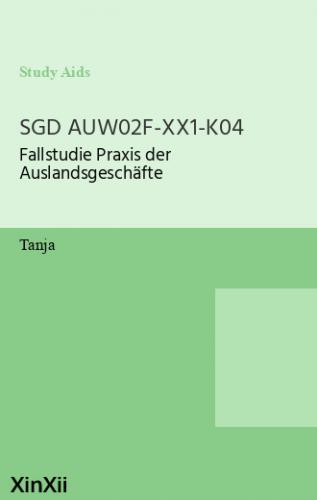 SGD AUW02F-XX1-K04