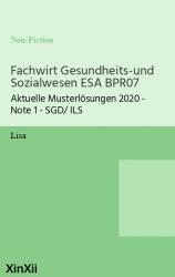 Fachwirt Gesundheits-und Sozialwesen ESA BPR07