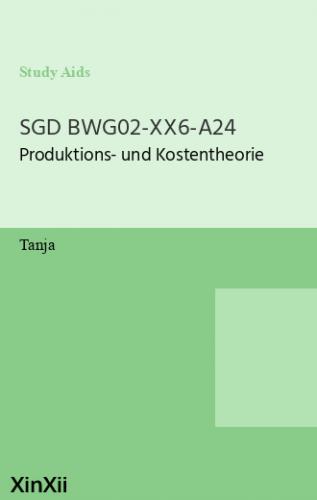 SGD BWG02-XX6-A24