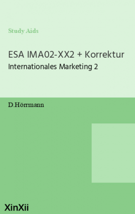 ESA IMA02-XX2 + Korrektur
