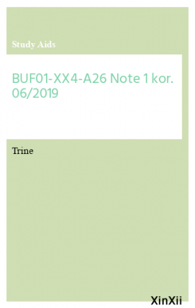 BUF01-XX4-A26 Note 1 kor. 06/2019