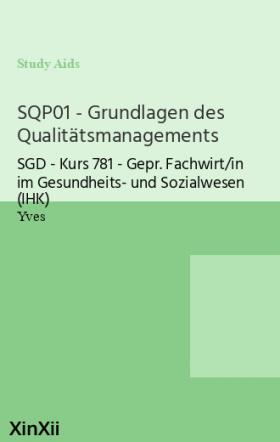 SQP01 - Grundlagen des Qualitätsmanagements