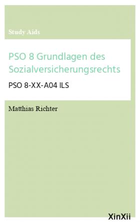 PSO 8 Grundlagen des Sozialversicherungsrechts
