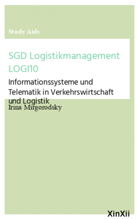 SGD Logistikmanagement LOGI10
