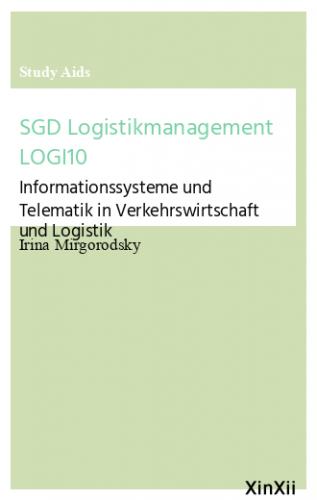 SGD Logistikmanagement LOGI10