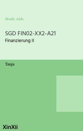 SGD FIN02-XX2-A21