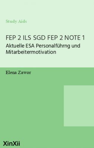 FEP 2 ILS SGD FEP 2 NOTE 1