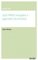 SGD PR852 Aufgabe 3 geprüfter Buchhalter