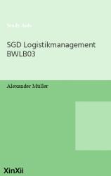 SGD Logistikmanagement BWLB03
