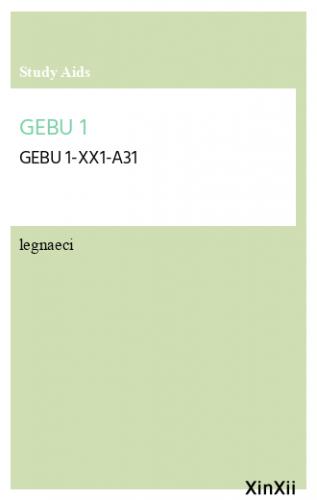 GEBU 1