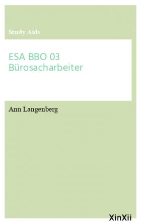 ESA BBO 03 Bürosacharbeiter