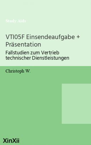 VTI05F Einsendeaufgabe + Präsentation