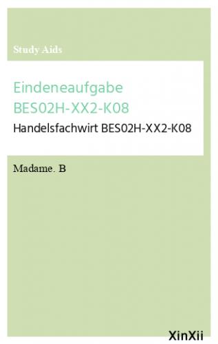 Eindeneaufgabe BES02H-XX2-K08