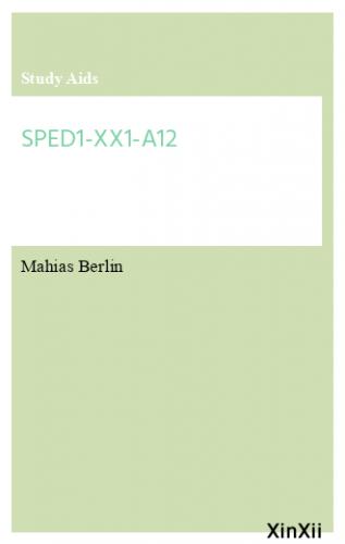 SPED1-XX1-A12