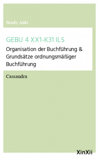 GEBU 4 XX1-K31 ILS