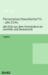 Personalsachbearbeiter*in - alle ESAs