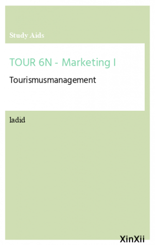 TOUR 6N - Marketing I