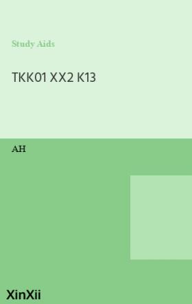 TKK01 XX2 K13