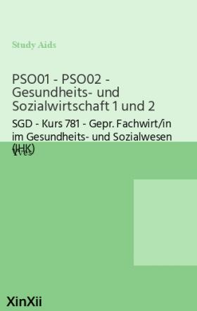 PSO01 - PSO02 - Gesundheits- und Sozialwirtschaft 1 und 2