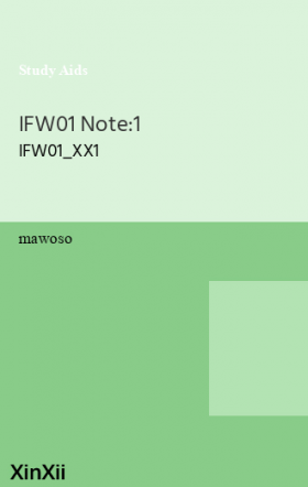 IFW01 Note:1