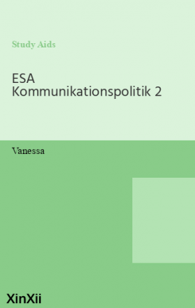 ESA Kommunikationspolitik 2