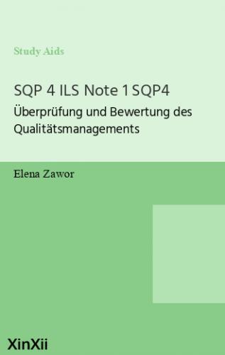 SQP 4 ILS Note 1 SQP4