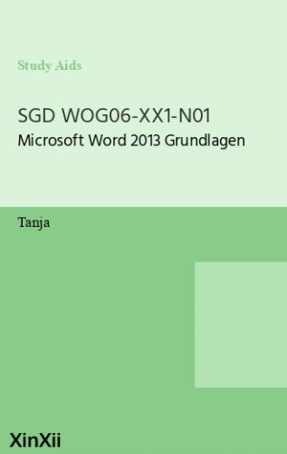 SGD WOG06-XX1-N01
