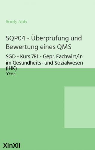 SQP04 - Überprüfung und Bewertung eines QMS