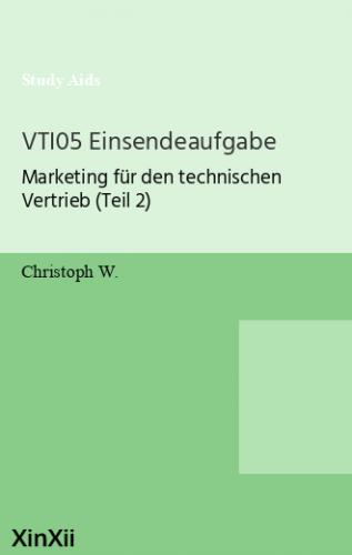 VTI05 Einsendeaufgabe