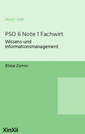 PSO 6 Note 1 Fachwirt