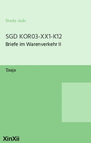 SGD KOR03-XX1-K12