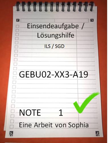 GEBU02-XX3-A19 // GEBU 02 // Note 1 // 100 Punkte