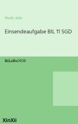 Einsendeaufgabe BIL 11  SGD
