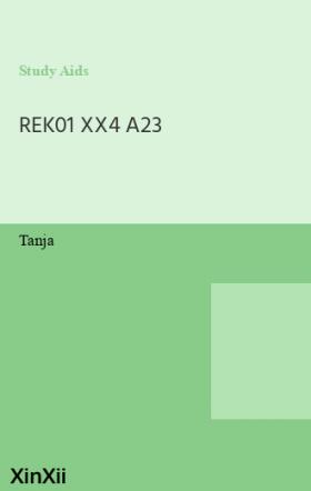 REK01 XX4 A23