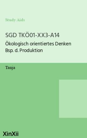 SGD TKÖ01-XX3-A14