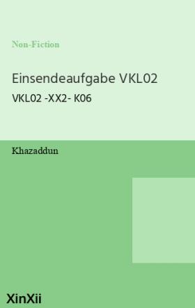 Einsendeaufgabe VKL02