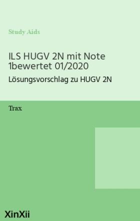 ILS HUGV 2N mit Note 1bewertet 01/2020