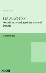 ESA AUW06-XX1