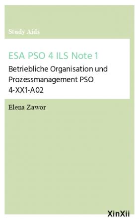 ESA PSO 4 ILS Note 1