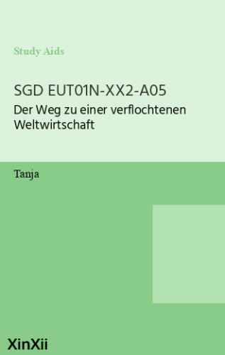 SGD EUT01N-XX2-A05
