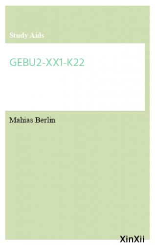 GEBU2-XX1-K22