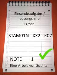 STAM01N - XX2 - K07 // STAM01N // Note 1