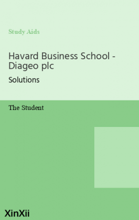 Havard Business School - Diageo plc