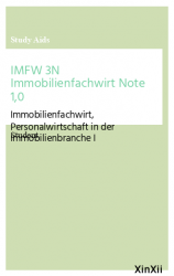 IMFW 3N Immobilienfachwirt Note 1,0