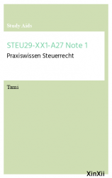 STEU29-XX1-A27 Note 1